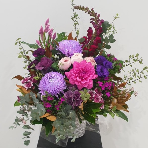 Purple  Garden Pot Arrangement