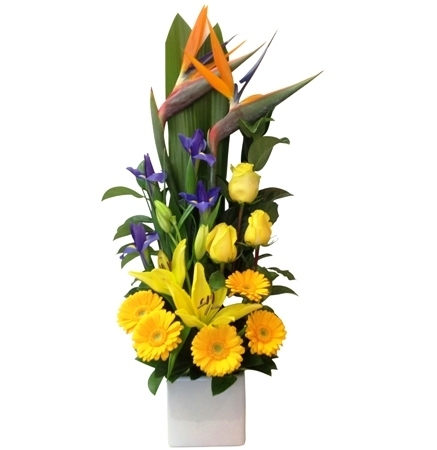 Tall Bright  Arrangement