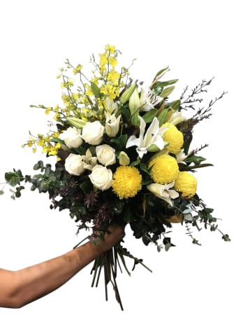 Large Yellow & white bouquet
