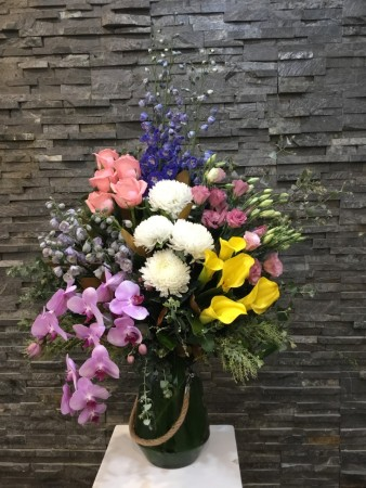 Large Wow vase arrangement