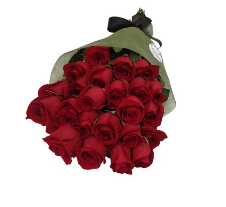 Long Red Stemmed Red Rose Bouquet