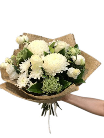 All about White  Bouquet