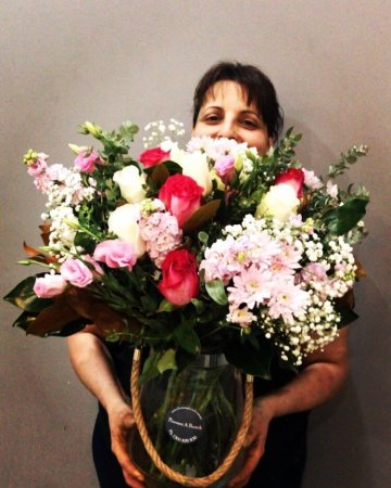Georgina`s Designer Choice  bouquet