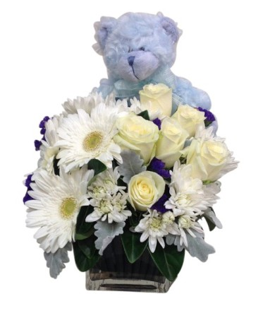 Baby Flowers with Bear
