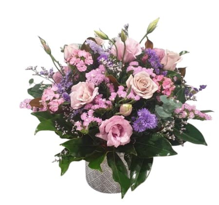 DUSTY PINK POSY VASE
