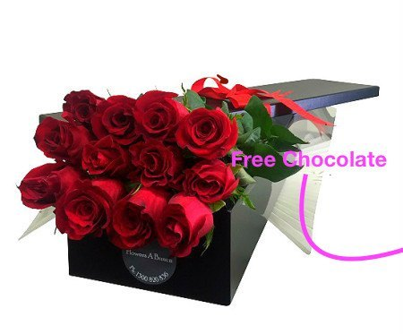 12 Stem Red Rose  Gift