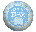 Balloon helium Baby boy